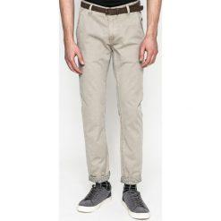 Medicine - Spodnie Basic. Szare rurki męskie MEDICINE, w paski, z bawełny. W wyprzedaży za 59,90 zł.