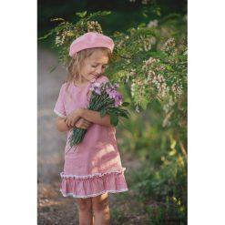 Sukienka Little Pink. Różowe sukienki dziewczęce z falbanami Pakamera, w koronkowe wzory, z koronki. Za 135,00 zł.