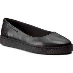 Creepersy damskie: Półbuty CLARKS - Lillia Petal 261272664 Black Leather