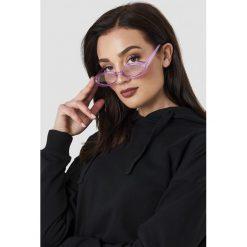 Le Specs Okulary przeciwsłoneczne Outta Love - Purple. Fioletowe okulary przeciwsłoneczne damskie aviatory Le Specs, owalne. Za 222,95 zł.