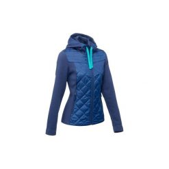 Sweter NH500 Hybrid damski. Niebieskie swetry klasyczne damskie QUECHUA, xl. Za 99,99 zł.
