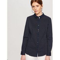 Elegancka koszula - Granatowy. Niebieskie koszule damskie Reserved, eleganckie. Za 59,99 zł.