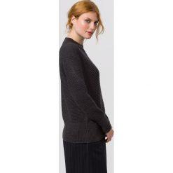 Swetry klasyczne damskie: IVY & OAK CLASSIC JUMPER Sweter dark grey melange