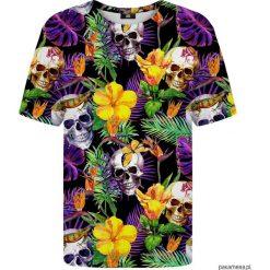 Bluzki, topy, tuniki: T-shirt ze wzorem Skulls in Flowers
