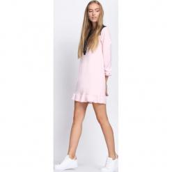 Różowa Sukienka Apparent. Czerwone sukienki hiszpanki Born2be, na lato, s, mini. Za 59,99 zł.