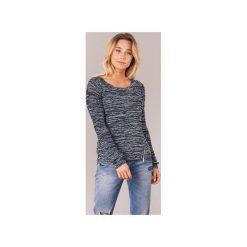 Swetry Only  GEENA MOULINE. Czarne swetry klasyczne damskie marki ONLY, l, z materiału, z kapturem. Za 104,30 zł.