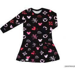 Sukienki dziewczęce: Sukienka w różowe myszki miki 68-134 / BUGZY
