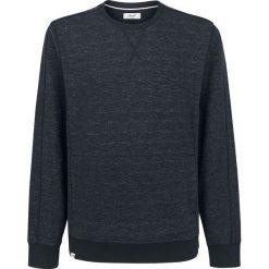 Bluzy męskie: Reell Stitch Crewneck Bluza czarny