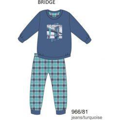 Bielizna chłopięca: Piżama chłopięca DR 966/81 Bridge Jeansowa r. 164