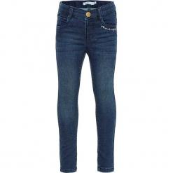 """Dżinsy """"Polly"""" - Skinny fit - w kolorze niebieskim. Niebieskie jeansy dziewczęce marki Name it Kids, z materiału. W wyprzedaży za 62,95 zł."""