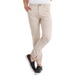 Spodnie męskie: Spodnie w kolorze jasnobrązowym