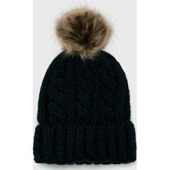 Haily's - Czapka. Czarne czapki zimowe damskie Haily's, na zimę, z dzianiny. Za 39,90 zł.