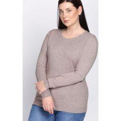 Khaki Sweter Come Into My Life. Brązowe swetry klasyczne damskie Born2be, l, z dzianiny. Za 39,99 zł.