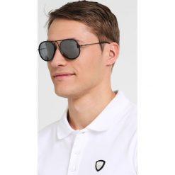 Emporio Armani Okulary przeciwsłoneczne black. Czarne okulary przeciwsłoneczne damskie lenonki Emporio Armani. Za 649,00 zł.