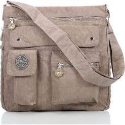 Męska Torba na ramię raportówka Bag Street  Beżowa. Brązowe torby na ramię męskie marki Kazar, ze skóry, przez ramię, małe. Za 67,90 zł.