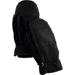 """Skórzane rękawiczki """"Gondy"""" w kolorze czarnym. Czarne rękawiczki damskie marki Burton. W wyprzedaży za 254,95 zł."""