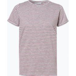Marie Lund - T-shirt damski, lila. Szare t-shirty damskie Marie Lund, l, w paski. Za 59,95 zł.