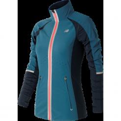 New Balance WJ63200CSY. Szare kurtki damskie do biegania New Balance, na jesień, z lycry. Za 329,99 zł.