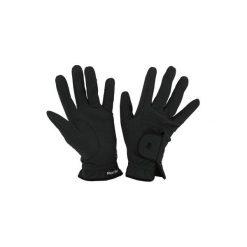 Rękawiczki jeździeckie Roeckl Grip. Czarne rękawiczki damskie marki Roeckl, z bawełny. Za 149,99 zł.