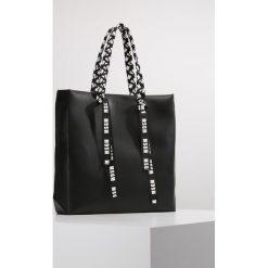 Shopper bag damskie: MSGM NASTRO LOGO Torba na zakupy black