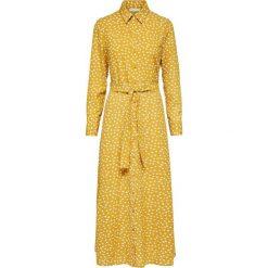 Długie sukienki: Selected Femme MIT LANGEN ÄRMELN PRINT Długa sukienka honey