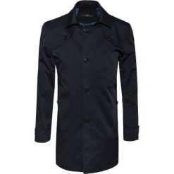 Płaszcz PIETRO 15-46LK. Czarne płaszcze na zamek męskie Giacomo Conti, m, z materiału, biznesowe. Za 599,00 zł.