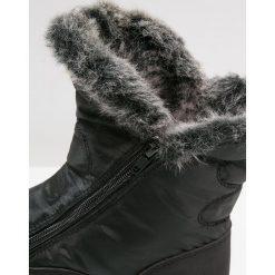 Anna Field Botki black. Czarne buty zimowe damskie marki Anna Field, z materiału. W wyprzedaży za 135,20 zł.
