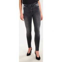 Boyfriendy damskie: Cheap Monday HIGH SKIN PCW, CARE OFF C/O Jeans Skinny Fit washed black