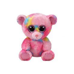 Maskotka TY INC Beanie Boos Franky - Kolorowy Miś 15 cm 36899. Różowe przytulanki i maskotki marki TY INC. Za 19,99 zł.