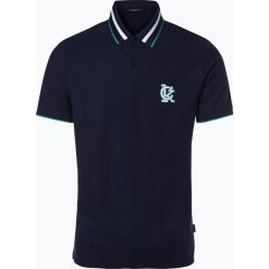 Calvin Klein - Męska koszulka polo, niebieski. Pomarańczowe koszulki polo marki Calvin Klein, l, z bawełny, z okrągłym kołnierzem. Za 249,95 zł.