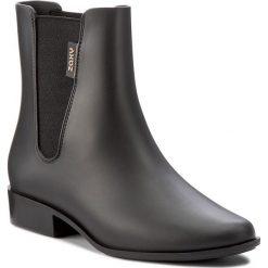 Kalosze ZAXY - London Boot II Fem 82267 Czarny 01003 Y285047. Czarne buty zimowe damskie marki Lemon Jelly, z gumy. W wyprzedaży za 169,00 zł.