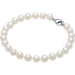 Bransoletki damskie: Bransoletka z pereł w kolorze białym