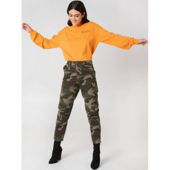 Bluzy damskie: NA-KD Urban Bluza Cool Girl - Orange