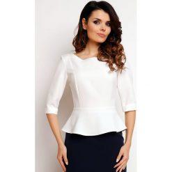 Bluzki, topy, tuniki: Koszulka w kolorze kremowym