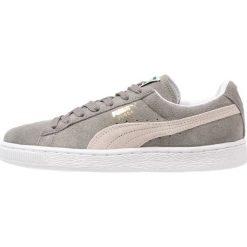Puma SUEDE CLASSIC+ Tenisówki i Trampki steeple gray/white. Szare trampki męskie Puma, z materiału. Za 339,00 zł.