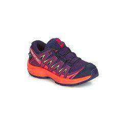 Buty Dziecko Salomon  XA PRO 3D CSWP J. Fioletowe buty sportowe chłopięce Salomon. Za 296,10 zł.