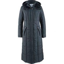 Lekki, długi płaszcz pikowany bonprix ciemny niebieski. Niebieskie płaszcze damskie bonprix. Za 229,99 zł.