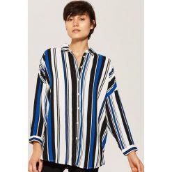 Koszula oversize - Wielobarwn. Szare koszule damskie House, l. Za 79,99 zł.