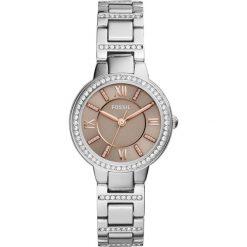 Zegarki damskie: Zegarek FOSSIL – Virginia ES4147  Silver/Silver