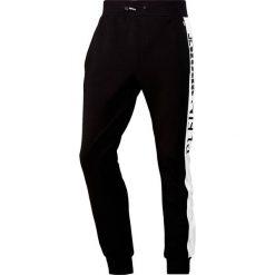 Plein Sport THUNDER Spodnie treningowe black. Czarne spodnie dresowe męskie marki Plein Sport, z bawełny. Za 869,00 zł.