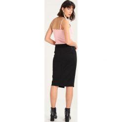 Spódniczki ołówkowe: Sisley Spódnica ołówkowa  black