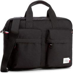 Torba na laptopa TOMMY HILFIGER - Tommy Computer Bag AM0AM02614 002. Niebieskie plecaki męskie marki Modecom, z materiału. W wyprzedaży za 259,00 zł.