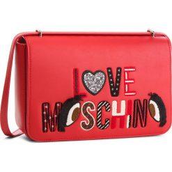 Torebka LOVE MOSCHINO - JC4290PP06KM0500 Rosso. Czerwone listonoszki damskie Love Moschino, ze skóry ekologicznej. Za 919,00 zł.
