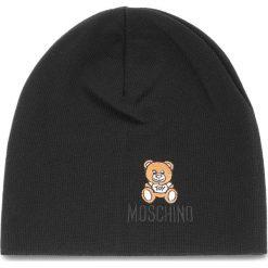 Czapka MOSCHINO - 65032 M1867 016. Czarne czapki damskie MOSCHINO, z materiału. Za 389,00 zł.