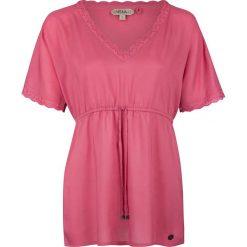 Bluzki asymetryczne: Bluzka w kolorze różowym