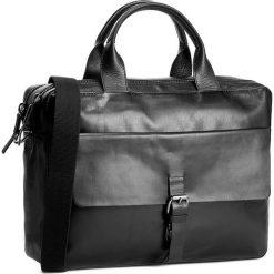 Torba na laptopa STRELLSON - Scott 4010001292 Black 900. Czarne plecaki męskie marki Strellson, ze skóry. Za 1109,00 zł.
