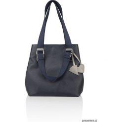 Skórzana torebka pasek parciany Alessia G-180. Szare torebki worki Pakamera, z bawełny. Za 476,00 zł.