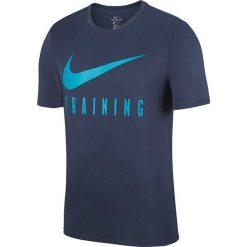 Koszulka sportowa męska NIKE DRY TRAINING TEE / AH6503-471 - DRY TRAINING TEE. Szare t-shirty męskie Nike, m. Za 99,00 zł.