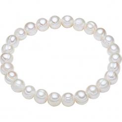 Bransoletka perłowa w kolorze białym. Białe bransoletki damskie marki Pearls Special. W wyprzedaży za 45,95 zł.