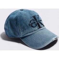 Czapki z daszkiem damskie: Calvin Klein Czapka Re-Issue Denim Baseball W Cap – Blue